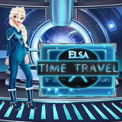 Elsa Time Travel Game