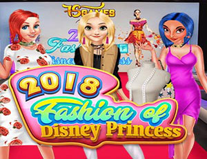 2018 Fashion of Disney Princess Game