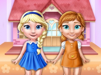 Ellie And Annie Doll House