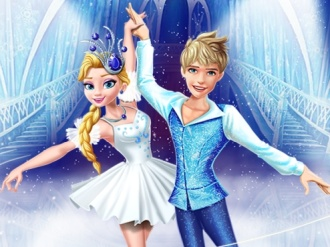 Elsa and Jack Ice Ballet