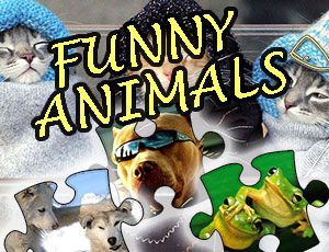 Jigsaw Puzzle Funny Animals
