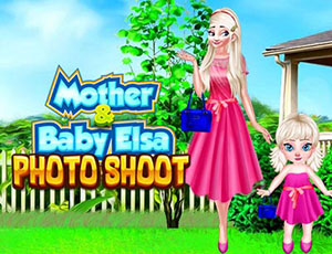 Mother And Baby Elsa Photoshoots