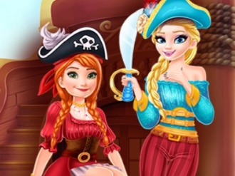 Pirate Girls Garderobe Treasure