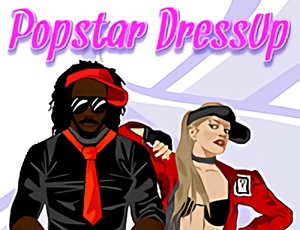 Popstar Drees Up