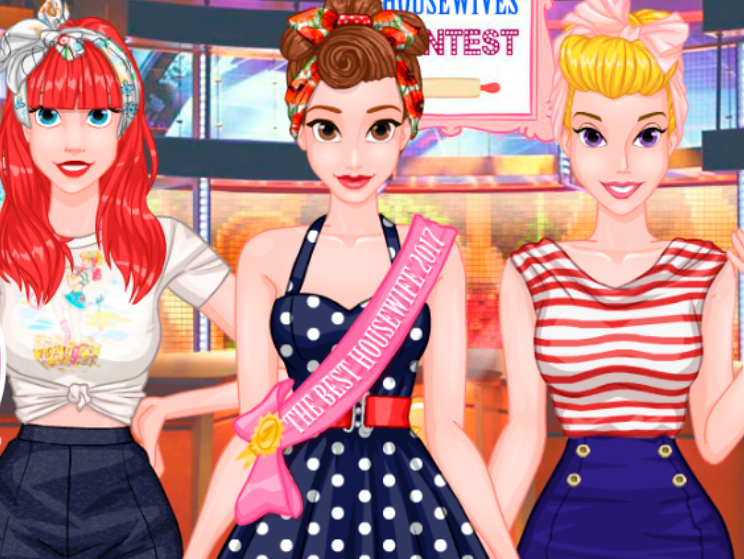 Princesses Housewives Contest