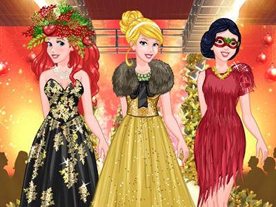 Princesses New Year Fashion Show